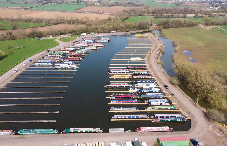 Brinklow marina new pontoons